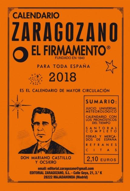 Almanaque zaragozano 2018 de bolsillo