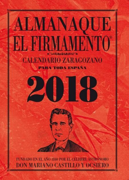 Calendario zaragozano 2018 tamaño grande.