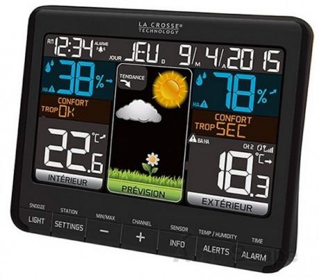Estación meteorológica digital con pantalla LED LaCrosse WS6825