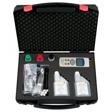 Kit analizador de agua PCE-PHD 1