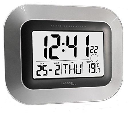 Reloj digital de pared con termómetro LaCrosse WS8005