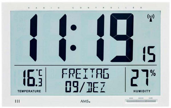 Reloj digital XXL con temperatura y humedad TFA 60.4517.54