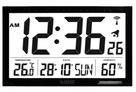 Reloj digital de pared con temperatura y humedad LaCrosse WS-8007