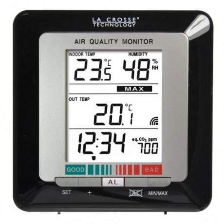 Termómetro digital interior y exterior con calidad del aire LaCrosse WS272