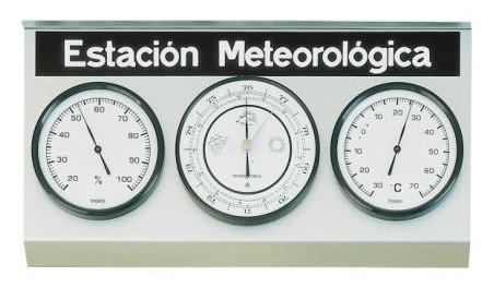 ¿Cómo funciona una estación meteorológica?
