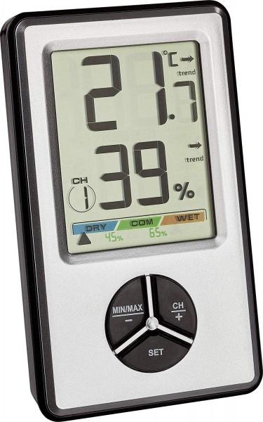 Termohigrómetro inalámbrico digital TFA 30.5045.54